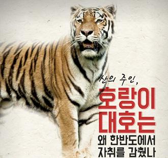 조선의 마지막 호랑이 '대호'…한반도에서 사라진 이유