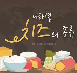 나라별 다양한 치즈 종류…내 입맛에 맞는 치즈는?