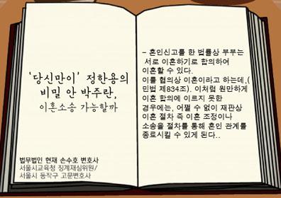 '당신만이' 박주란, 정한용 비밀 알았다…이혼소송 가능할까
