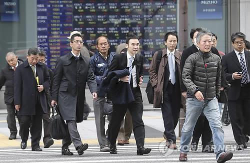 일본 아베노믹스 약발 다했다 '2분기 연속 역성장' 기록