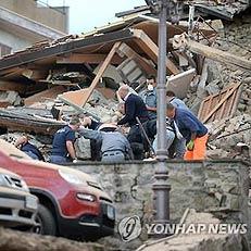 이탈리아서 6.2 지진…마을 붕괴