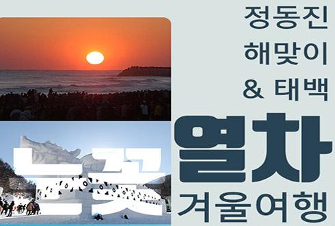 [카드뉴스] 눈꽃열차 타고 정동진 해맞이 & 태백 겨울 여행