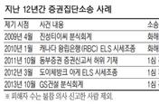 [판결] 도이체방크 ELS투자자 집단소송 첫 승소