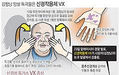 김정남 암살 독극물, <br>VX는 어떤 물질?