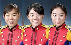 육사도 `여성시대` <br>졸업식 휩쓴 여생도들