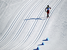'스키간판' 이채원, 동계AG 크로스컨트리 은메달