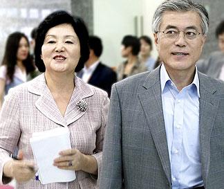 문재인-김정숙 부부, MBN<br> `뉴스와이드` 첫 동반출연