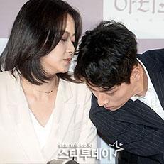 류현경-박정민, 무슨 대화 중?