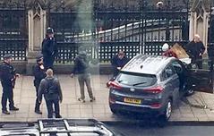 英의사당 주변서 테러 <br>韓人5명 등 20명 부상