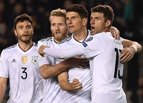 독일 월드컵 예선 5연승…쉬를레 2골 1도움