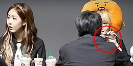 여자친구 예린, 팬 사인회서 정색? `안경몰카` 찍던 팬 `딱 걸렸어`