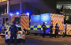 英맨체스터 경기장 <br>공연중 폭발 사고