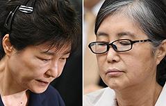 박근혜·최순실 사건 <br>재판 `병합 심리` 결정