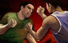 삼각관계 남성 살인 <br>미수 50대男 구속영장