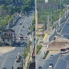 中 상하이 14년 된 `알박기` 건물 드디어 철거