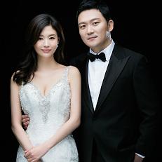 서유정, 선남선녀 웨딩화보 공개