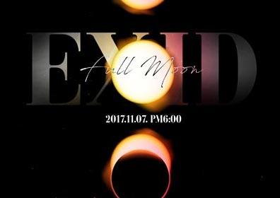 EXID, 11월7일 신보 'Full Moon'으로 컴백…솔지 녹음 참여
