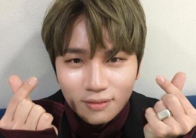 """""""취향저격 하트""""…케이윌, 팬심 강타한 귀요미 매력"""