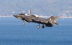 美 F-35B스텔스기부대 <br>일본 배치작업 완료