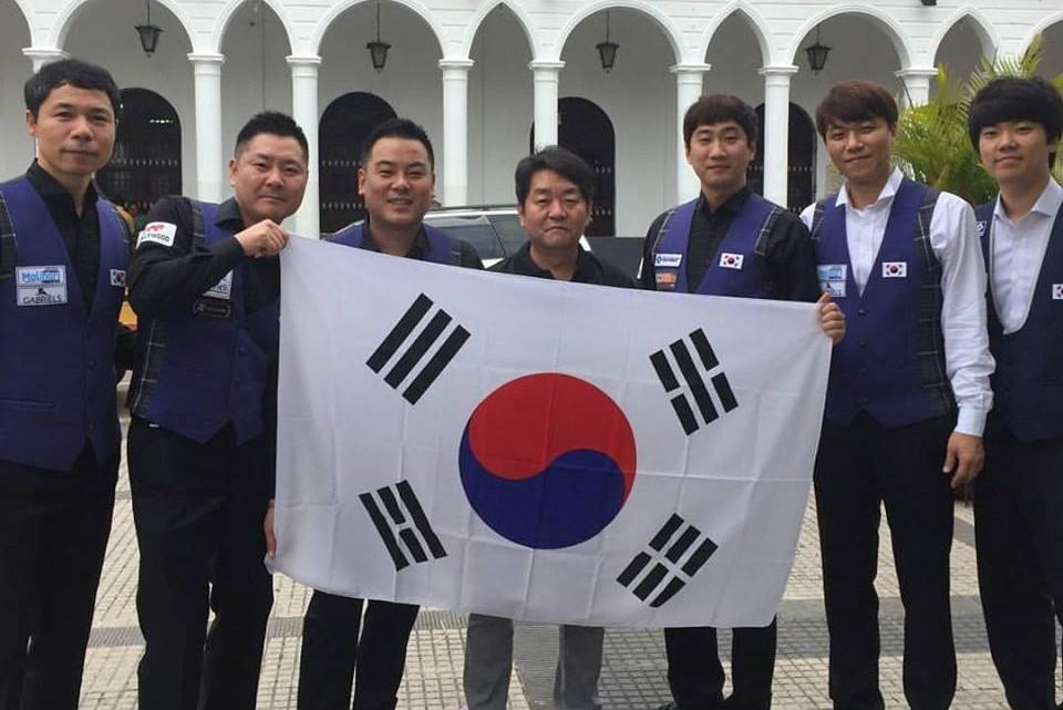 """[세계당구대회] 韓선수단 """"반드시 金 따겠습니다"""""""