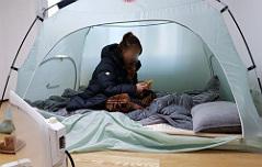난방 끊긴 얼음아파트 <br>주민 4천명 `덜덜`