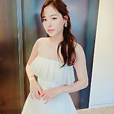"""""""결혼 스포였어?"""" 민효린, 태양이 반한 아찔한 웨딩드레스 자태"""