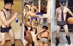 조종사 학교 학생들 <br>`에로틱 댄스` 논란