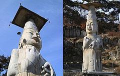 국내 최대 석불인<br> `은진미륵` 국보 지정