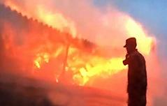 티베트 성소에 큰불, 中<br> `방화&피해 여부 부인`