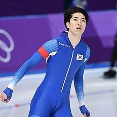 차민규, 올림픽 신기록에 깜짝