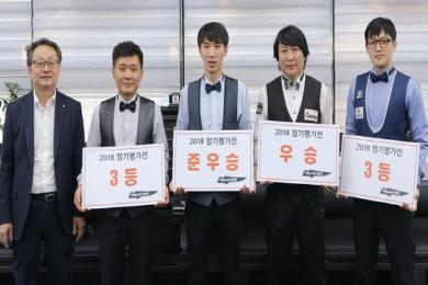 대전연맹 3C '2월 정기평가전' 신남호 우승