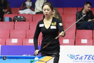김가영, 7년만에 세계9볼대회 우승 정조준