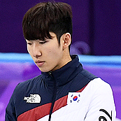 """임효준 """"우다징 워낙 빨라…계주 실수 속상해"""""""