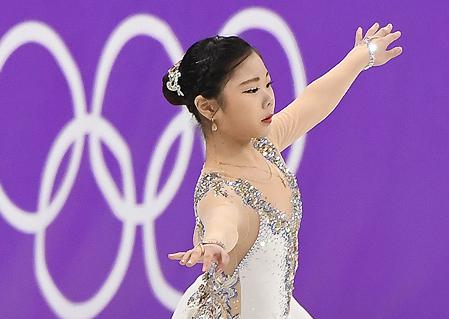 피겨 프리 김하늘, 개인최고점 경신 '175.71점'