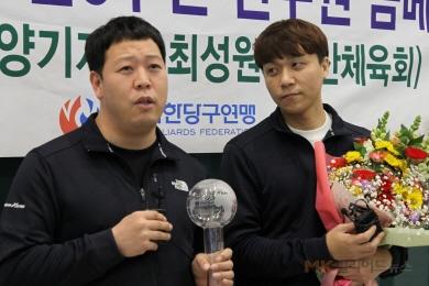 """[인터뷰]최성원-강동궁 """"최강조합이요? 딱 맞더라고요"""""""
