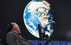 """호킹 경고 """"인류멸종,<br> AI, 기후변화, 외계인"""""""
