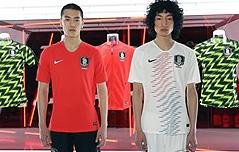 韓 월드컵 유니폼, <br>`태극기·한류` 심었다