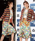 채정안, 변한없는 미모와 패션