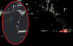 경찰이 고의 사고내<br> 의식잃은 운전자 구조