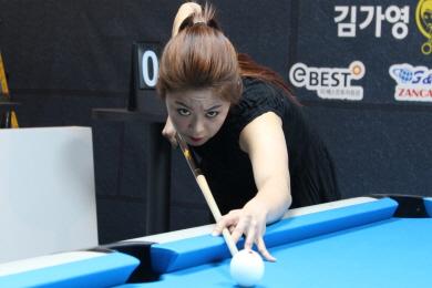 김가영, '세계챔프'들과 美포켓대회 출전