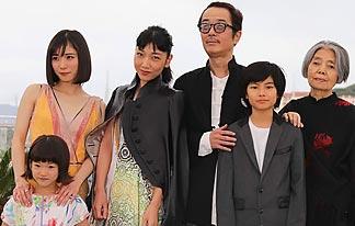 히로카즈 감독 `만비키 가족` 황금종려상