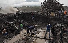 과테말라 화산폭발로<br> 110명 사망·197명 실종