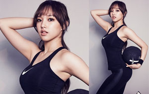성소 리듬체조 화보…베이글+애플힙+꿀벅지 결정체