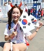 한국, 스웨덴전 뜨거웠던 현지 응원