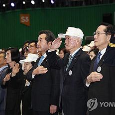 李총리, 6·25 기념일 국민의례