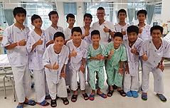 태국 동굴소년들, 탈출<br> 희망 찾아 매일 땅 파