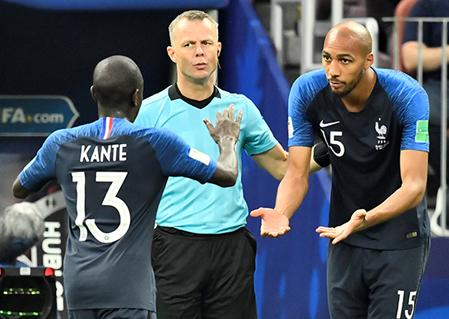 캉테 명성무색 부진, 월드컵 결승 교체된 이유