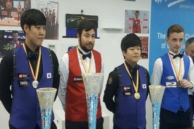 韓, 세계주니어3쿠션 우승 되찾나
