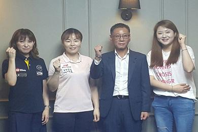 """'女3쿠션' 김민아‧이신영 """"목표는 당연히 우승"""""""