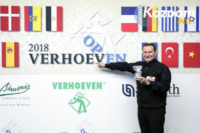 '세계2위' 먹스, 산체스 꺾고 버호벤오픈 우승